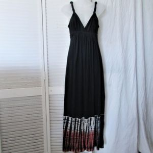 Romeo & Juliet Couture black maxi dress L